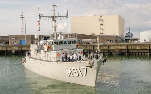 Chasseur de Mine Tripartite - Marine belge